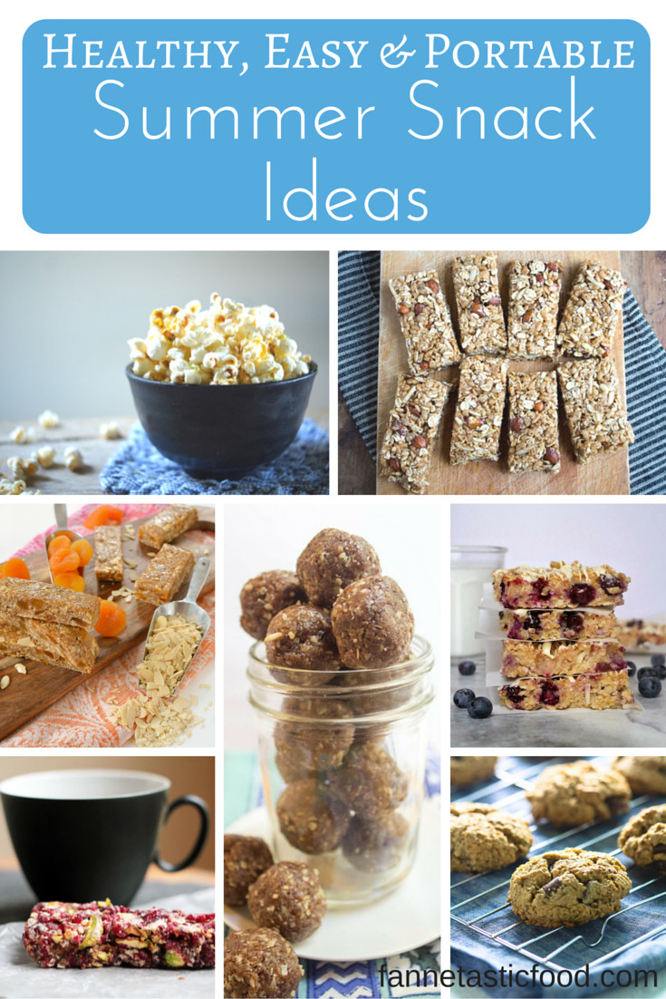 Healthy Portable Snacks  Healthy Portable Snack Ideas Fannetastic Food