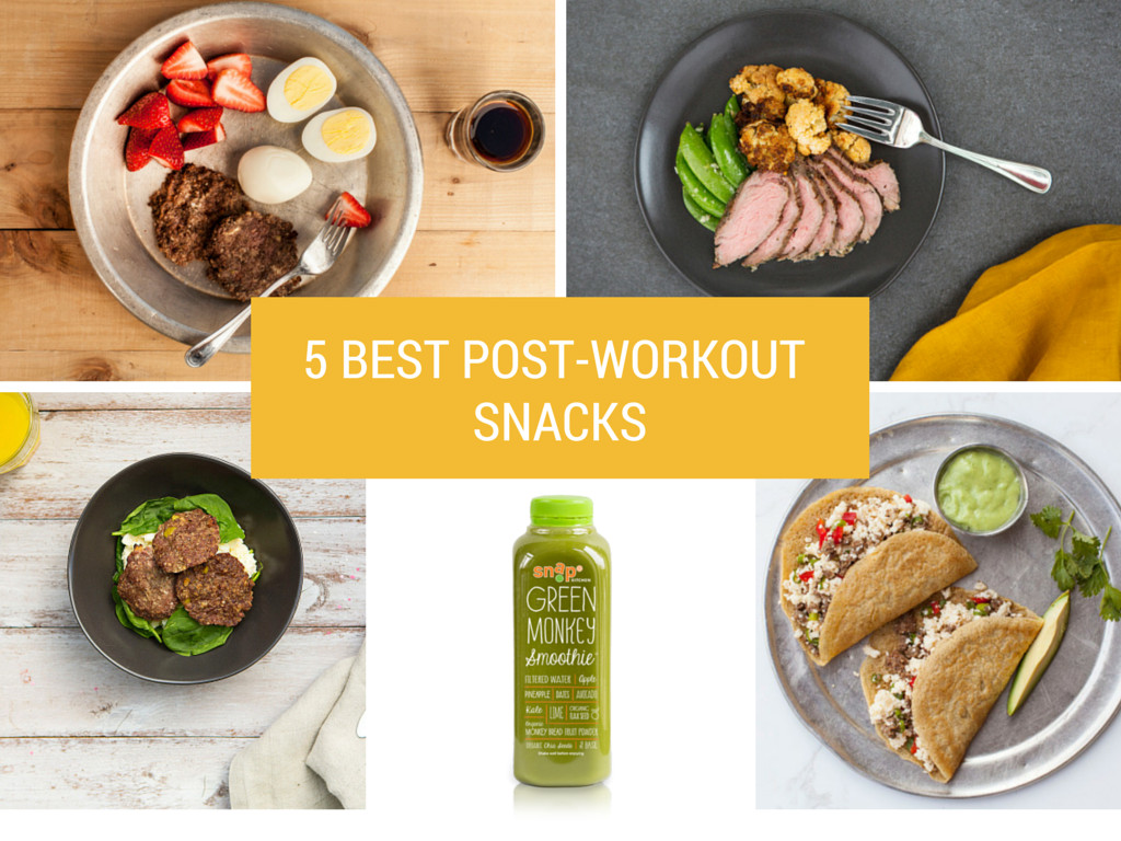 Healthy Post Workout Snacks  Snap Kitchen – The one stop healthy meal shop