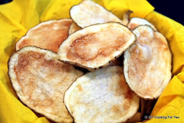 Healthy Potato Chips  Healthy Microwave Potato Chips