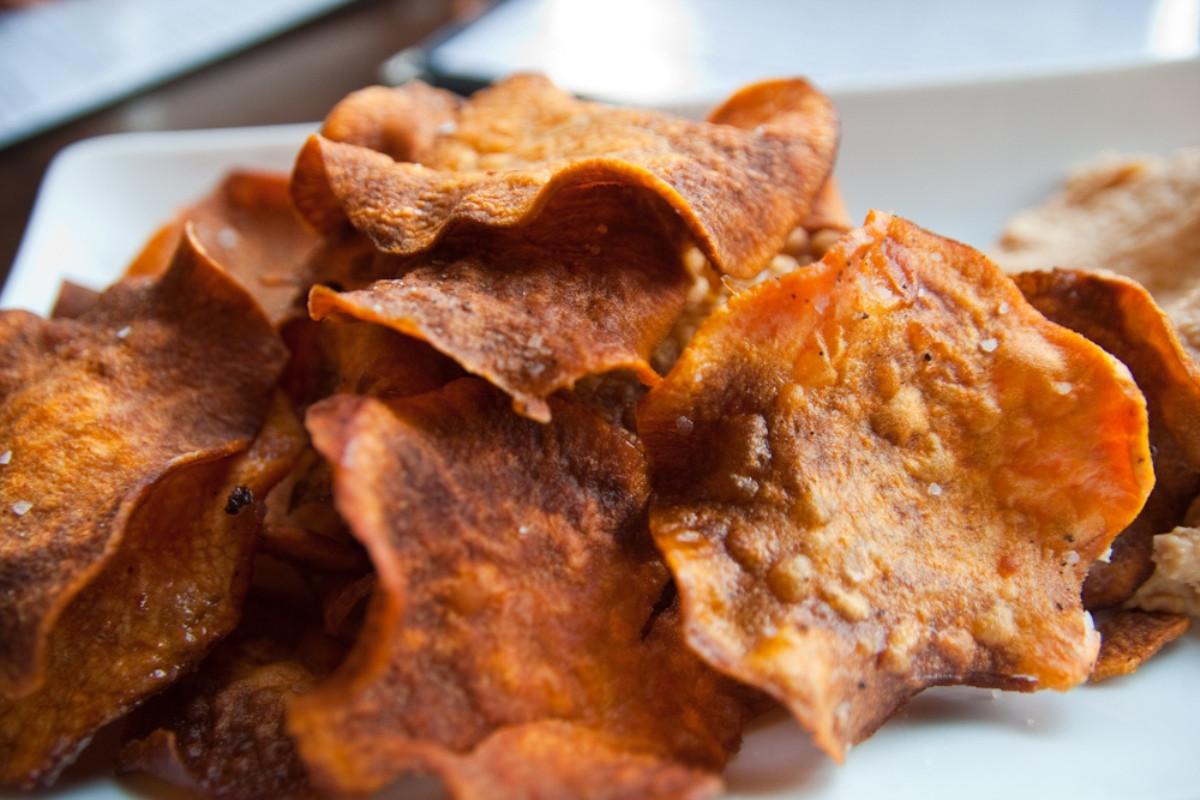 Healthy Potato Chips  A Crunchy Salty Snack That's Healthy Too Yes Homemade