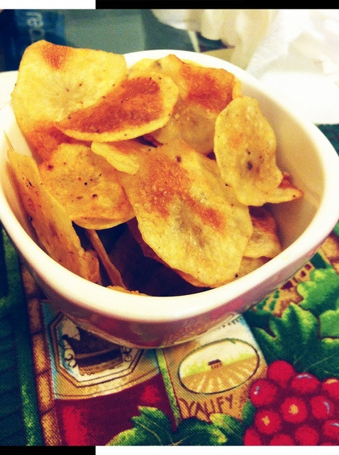 Healthy Potato Chips  How to Make Healthy Baked Potato Chips Recipe Snapguide
