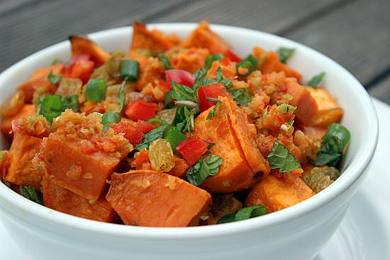Healthy Potato Salad Recipe  Healthy Sweet Potato Salad With Spice
