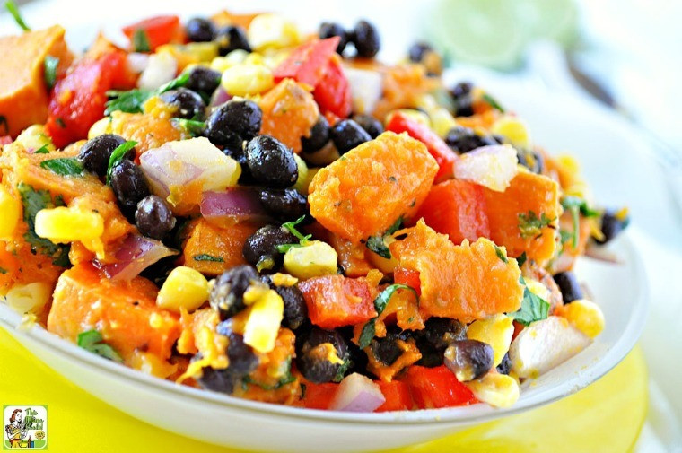 Healthy Potato Salad Recipe  Healthy Southwestern Sweet Potato Salad