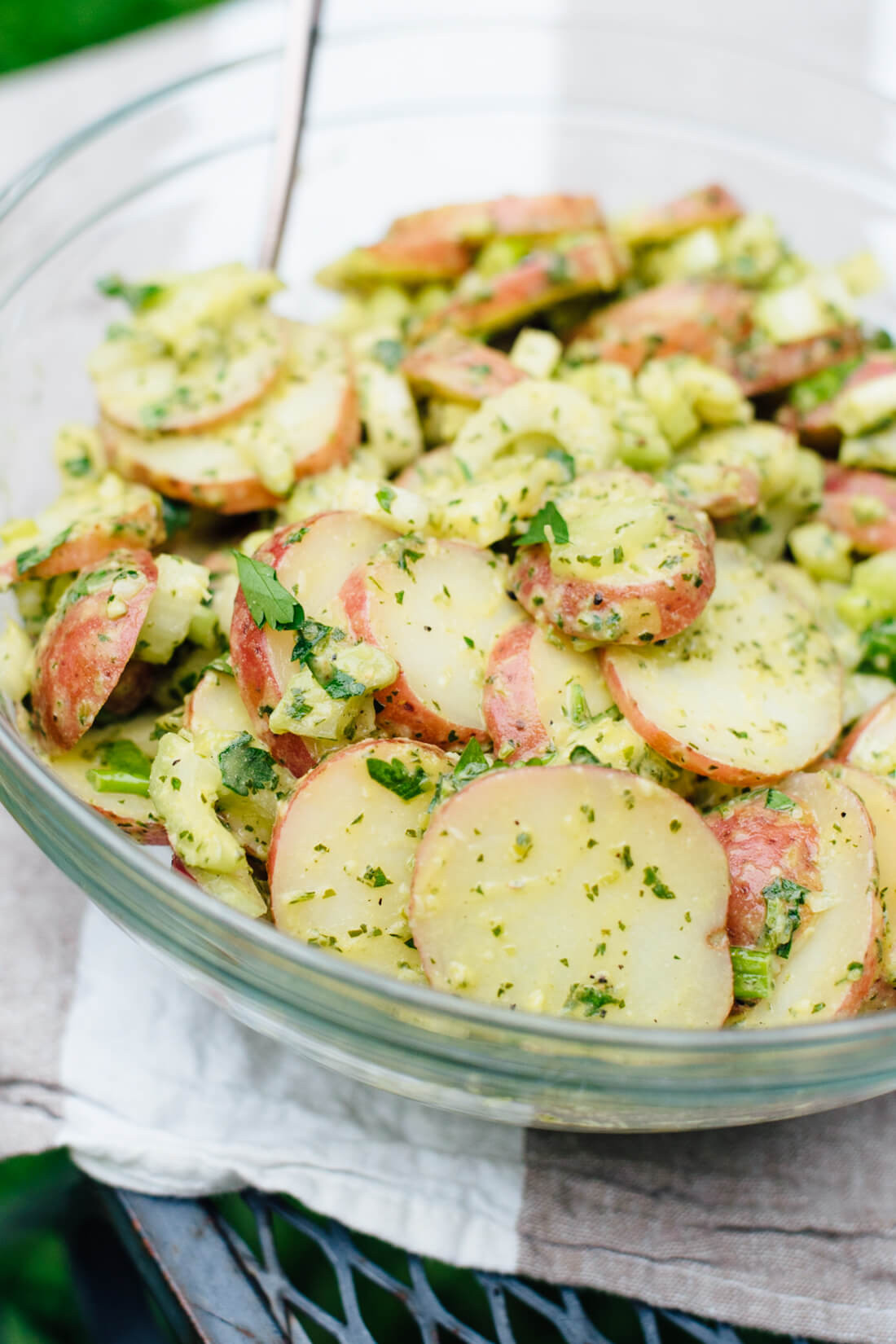 Healthy Potato Salad Recipe  Herbed Red Potato Salad Recipe Cookie and Kate