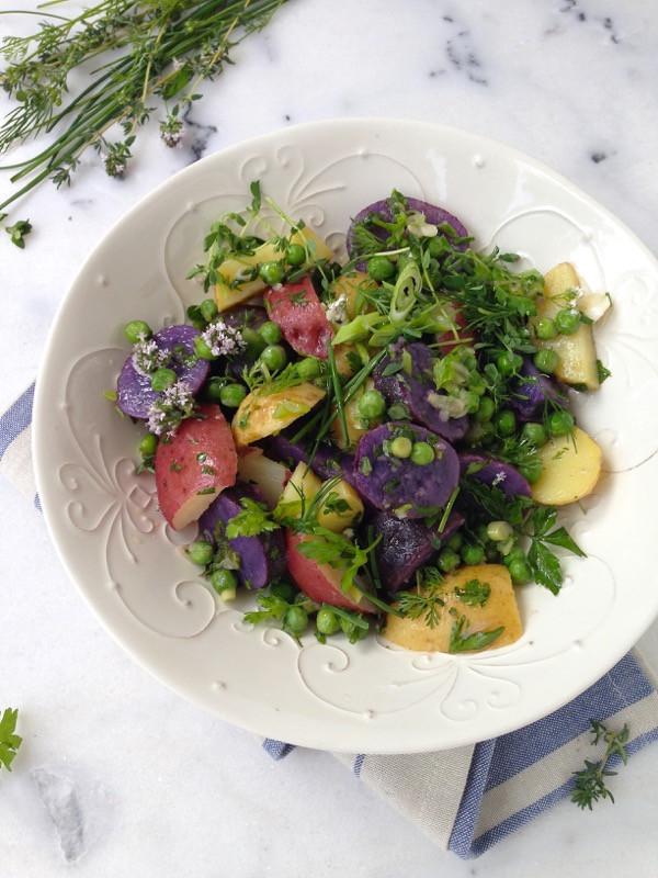 Healthy Potato Salad Recipe  Italian Potato Salad Recipe • CiaoFlorentina