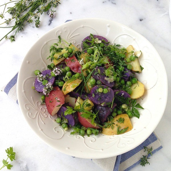 Healthy Potato Salad Recipe  Healthy Potato Salad Recipe Ciao Florentina