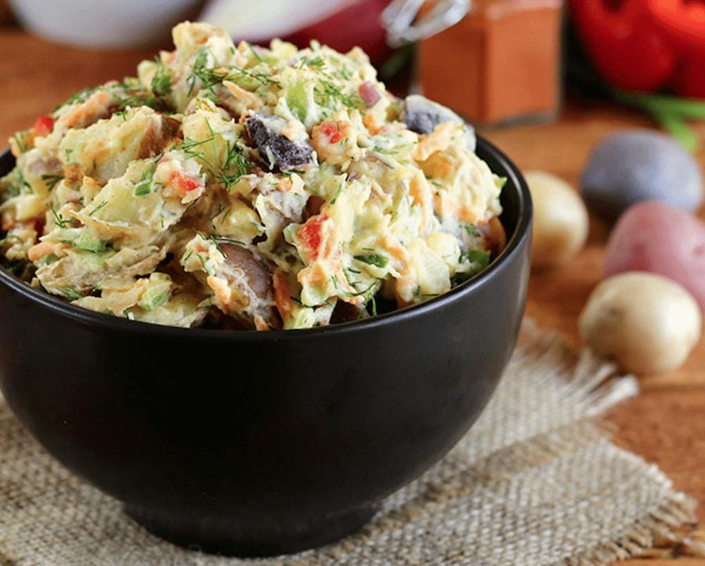 Healthy Potato Salad Recipe  9 Healthy Potato Salad Recipes That Are Actually Delicious
