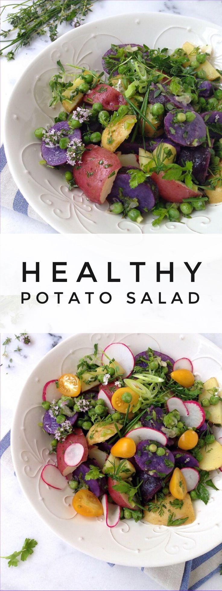 Healthy Potato Salad Recipe  Best 25 Healthy potato salads ideas on Pinterest