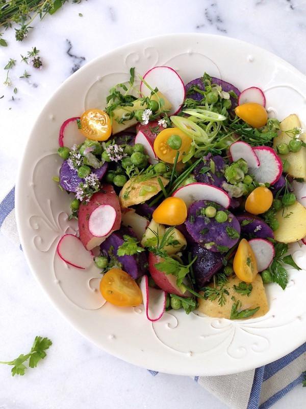 Healthy Potato Salad Recipe  healthy potato salad olive oil