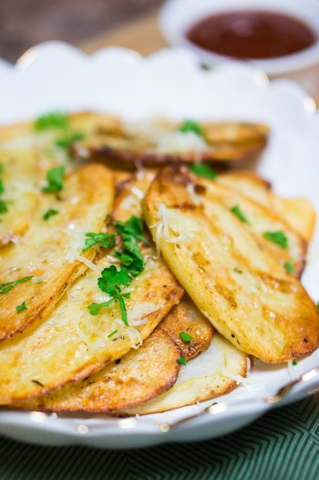 Healthy Potato Side Dishes  Baked Potato Slices Delicious Meets Healthy
