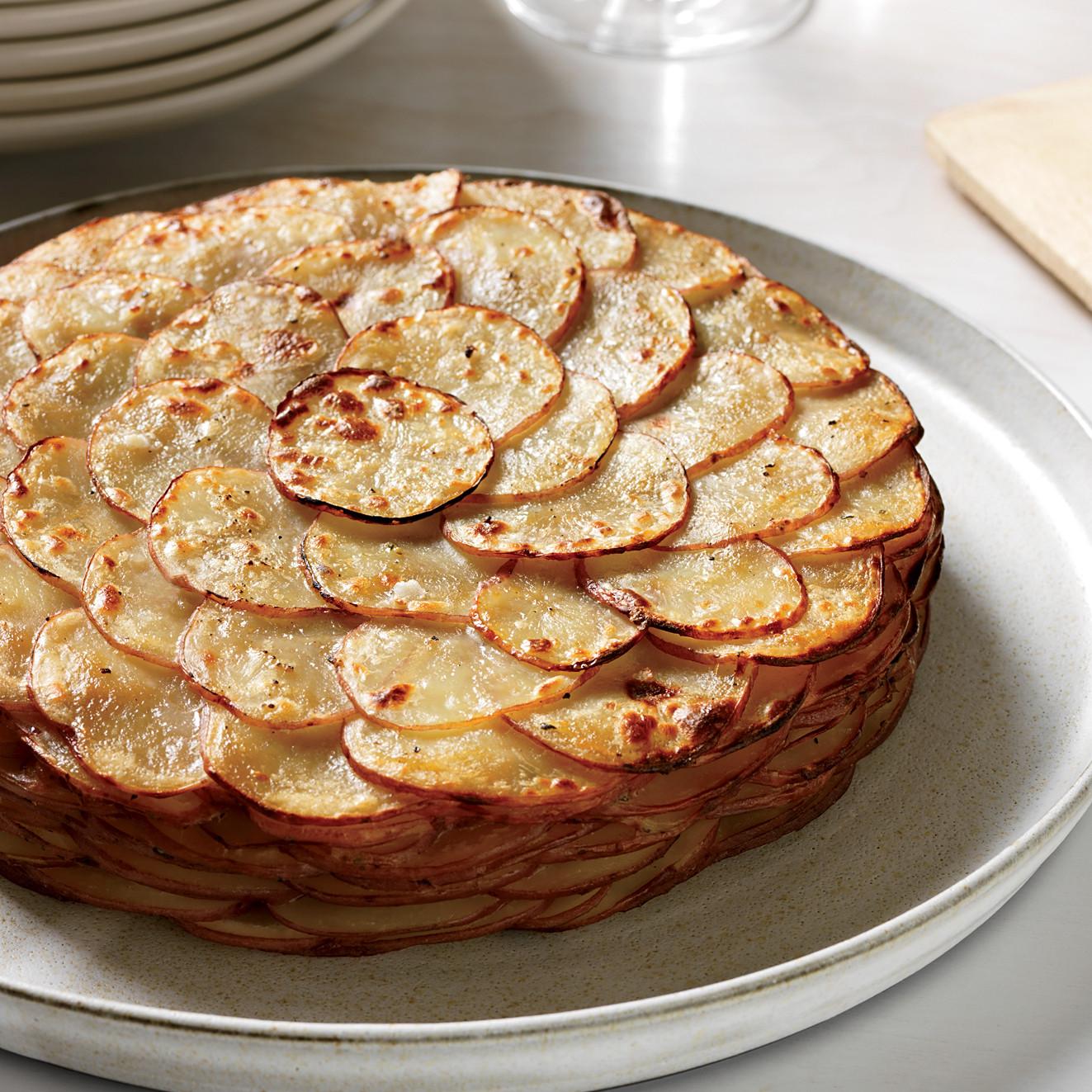 Healthy Potato Side Dishes  Healthy Potato Gratin with Herbs Recipe Garrett Weber