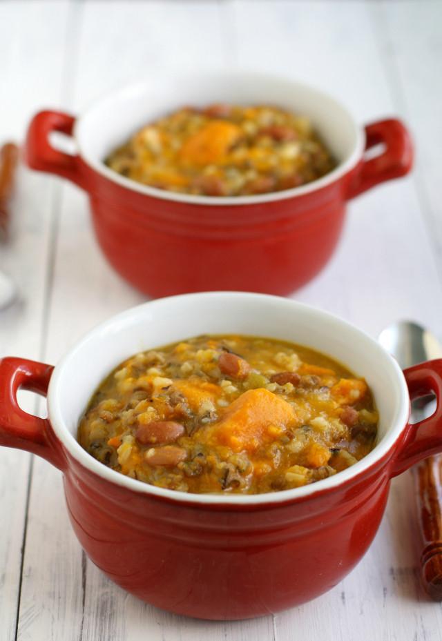 Healthy Potato Soup Crock Pot  Slow Cooker Sweet Potato Wild Rice Soup – Recipes for