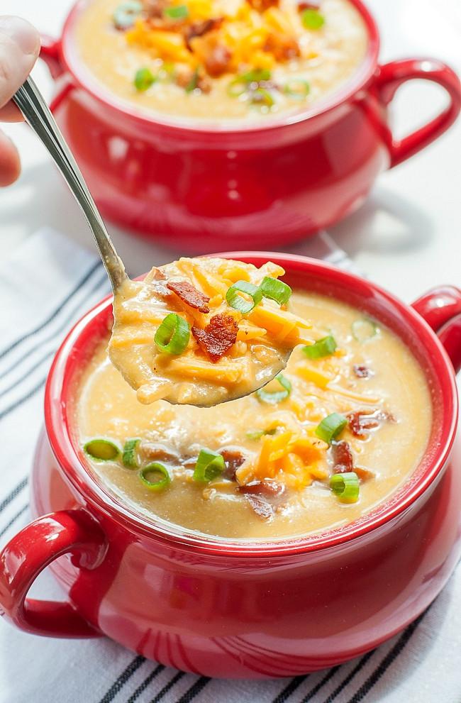 Healthy Potato Soup Crock Pot  11 Easy Potato Soup Recipes How to Make Potato Soup