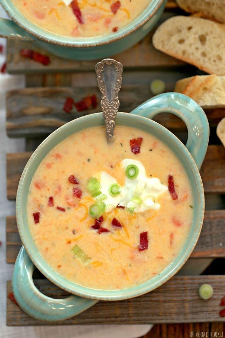 Healthy Potato Soup Crock Pot  Crockpot Loaded Potato Soup Healthy Potato Soup