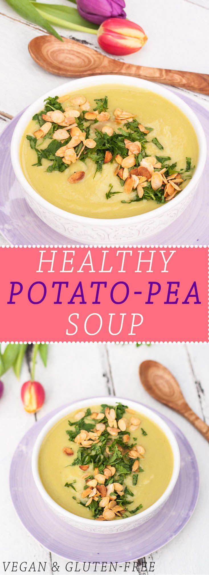 Healthy Potato Soup Recipe Easy  Check out Healthy Potato Pea Soup It s so easy to make