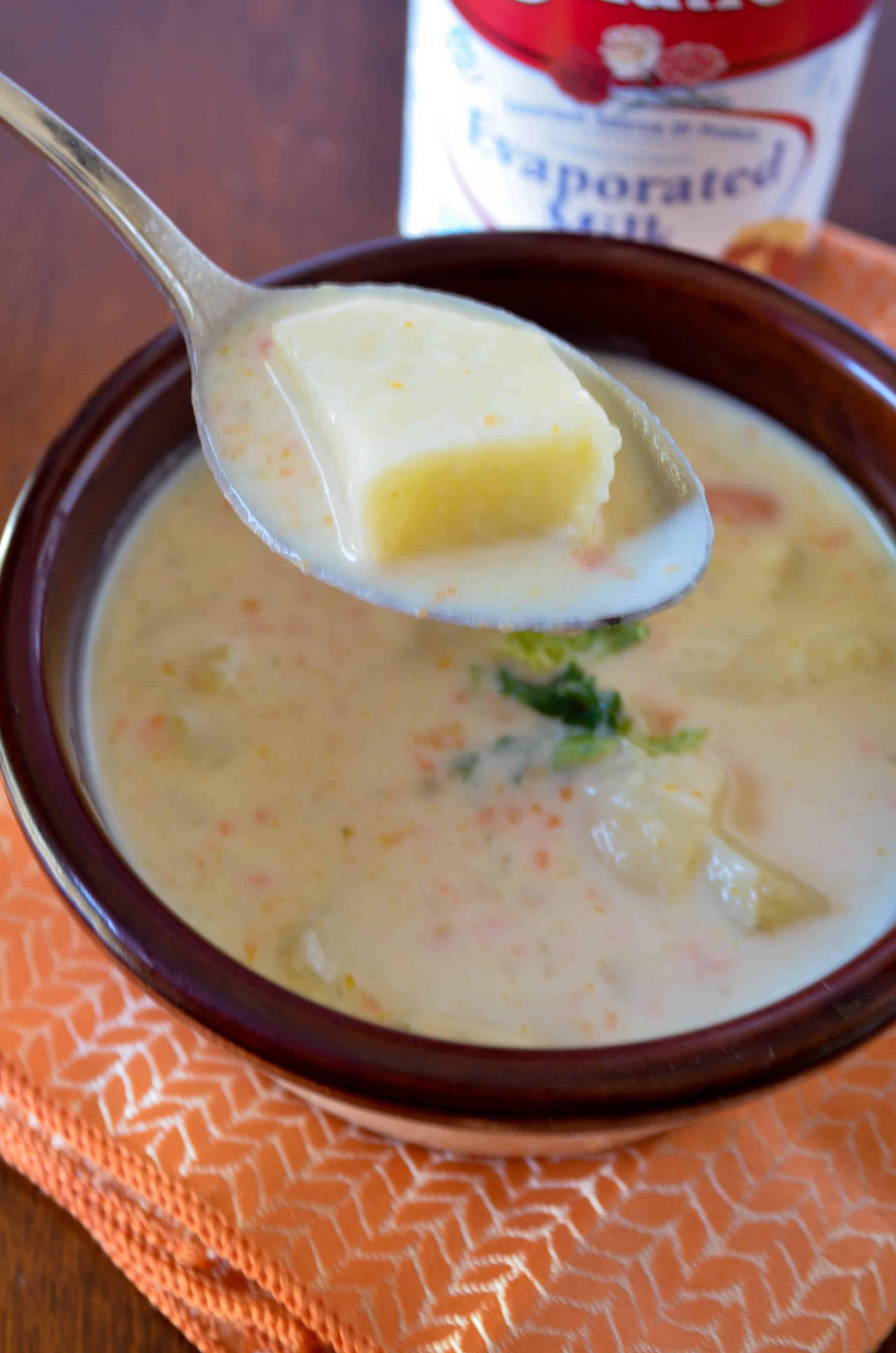 Healthy Potato Soup Recipe Easy  Creamy Potato Chowder A healthy soup recipe for your