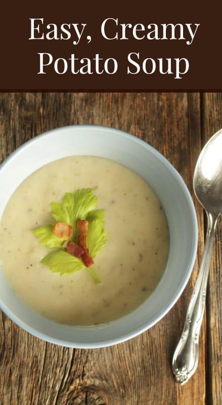 Healthy Potato Soup Recipe Easy  Easy Potato Soup Recipe