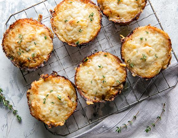 Healthy Potatoes Au Gratin  Individual Herb Potato au Gratin – Crystal Margarine