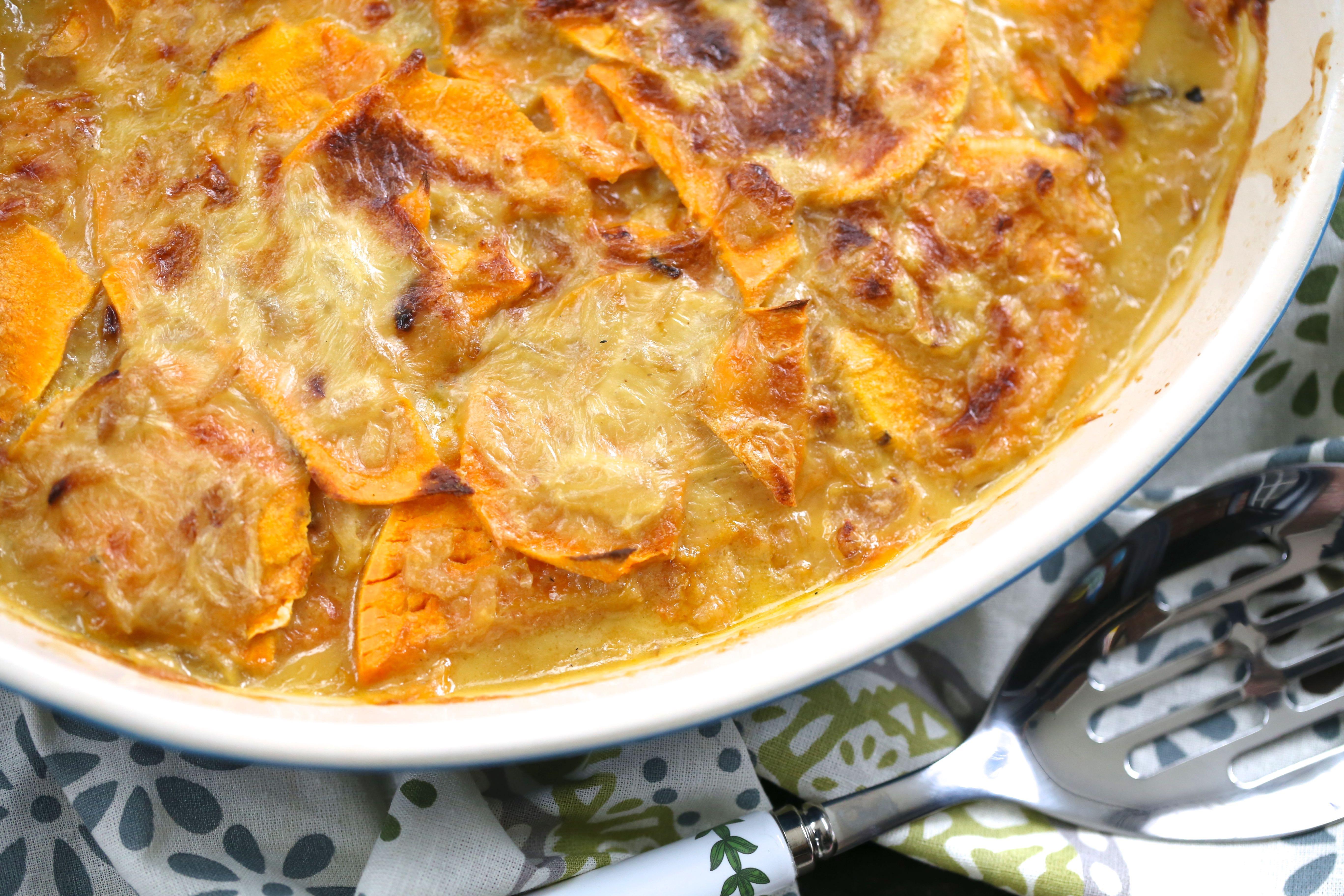 Healthy Potatoes Au Gratin  sweet potato au gratin healthy