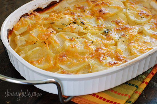 Healthy Potatoes Au Gratin  12 Healthy Christmas Dinner Side Dishes