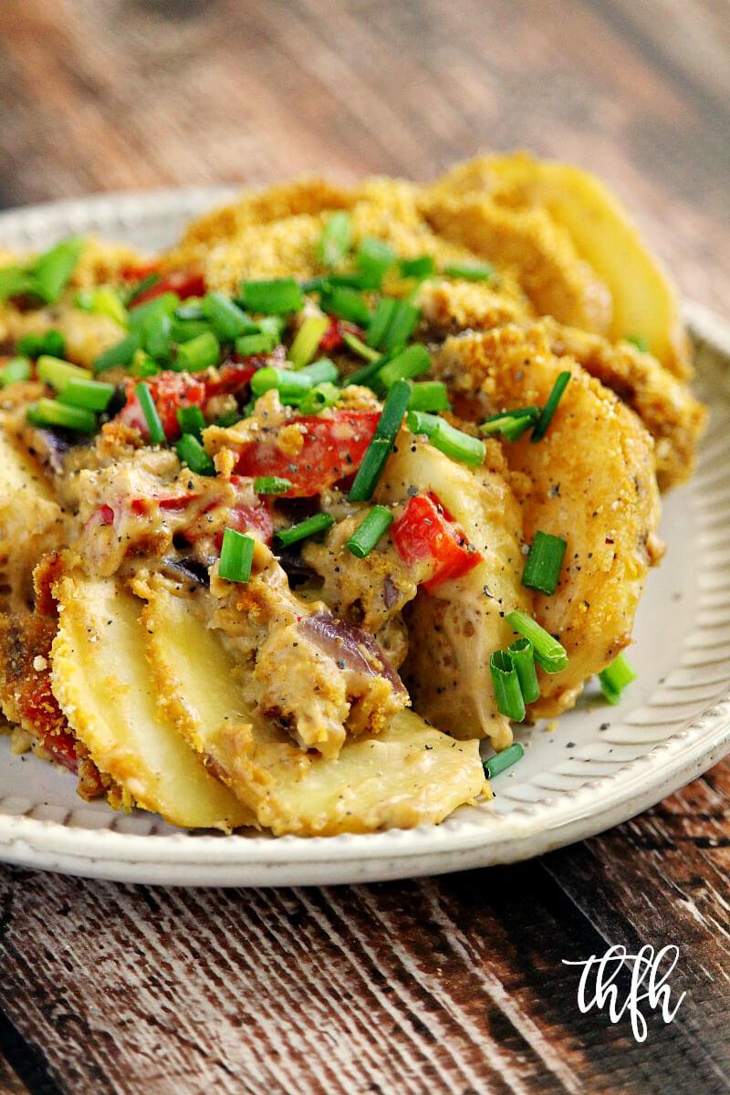 Healthy Potatoes Au Gratin  Vegan Potatoes Au Gratin