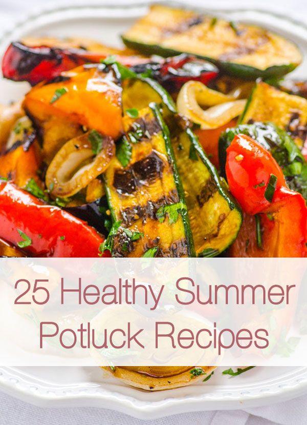 Healthy Potluck Desserts  25 Healthy Summer Potluck Recipes