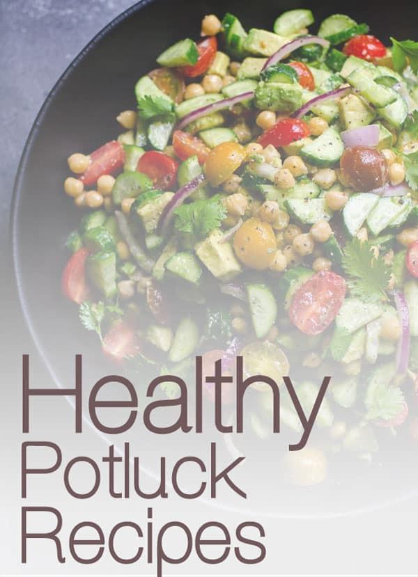 Healthy Potluck Desserts  40 Healthy Potluck Recipes iFOODreal Healthy Family