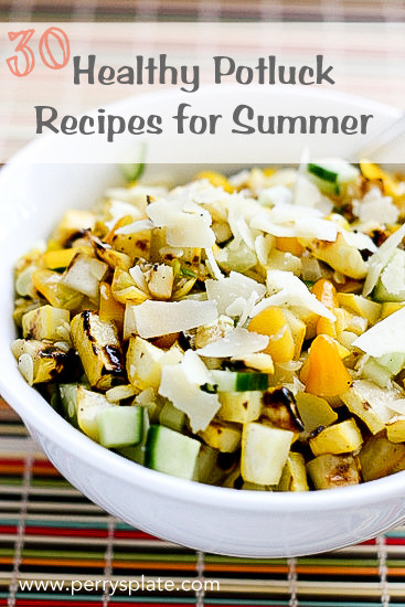 Healthy Potluck Desserts  30 Healthy Potluck Recipes for Summer Perry s Plate