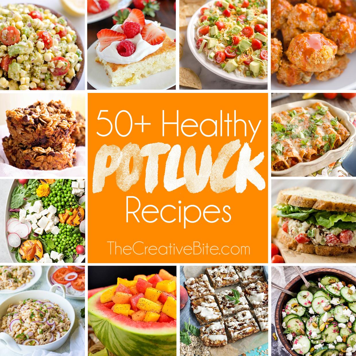 Healthy Potluck Desserts  50 Light & Healthy Potluck Recipes