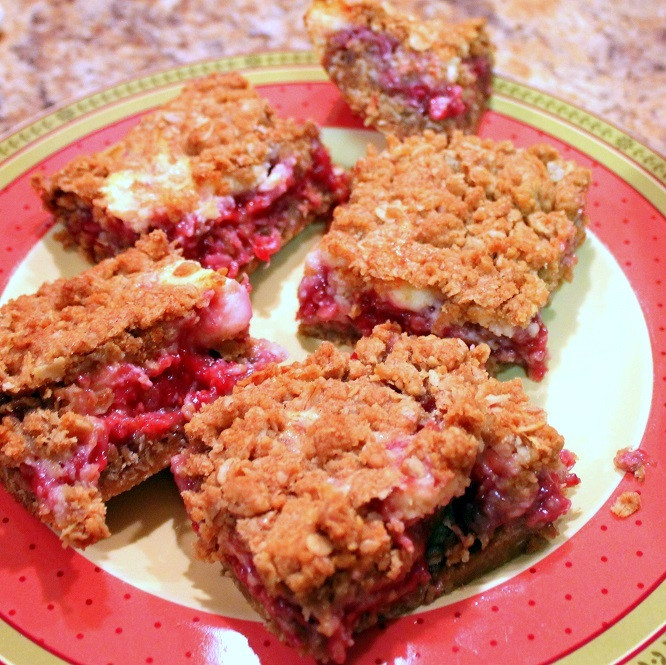 Healthy Potluck Desserts  52 Ways to Cook Raspberry Cream Cheese Bars Church
