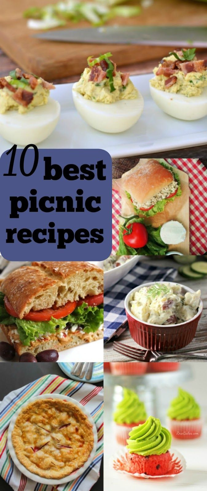 Healthy Potluck Desserts  The 25 best Picnic recipes ideas on Pinterest