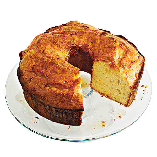 Healthy Pound Cake  Canola Oil Pound Cake with Browned Butter Glaze 100