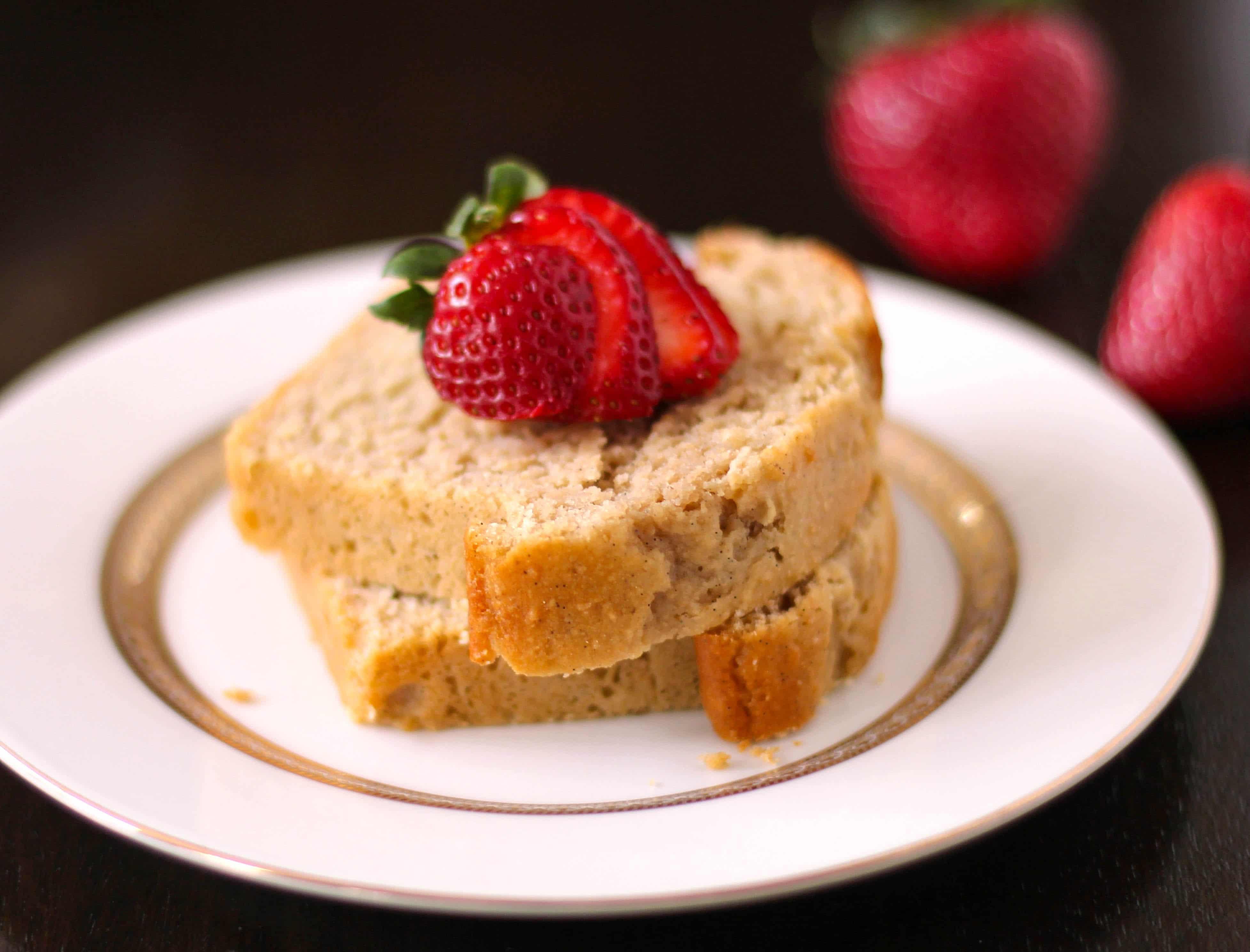 Healthy Pound Cake  Healthy Vanilla Bean Pound Cakes