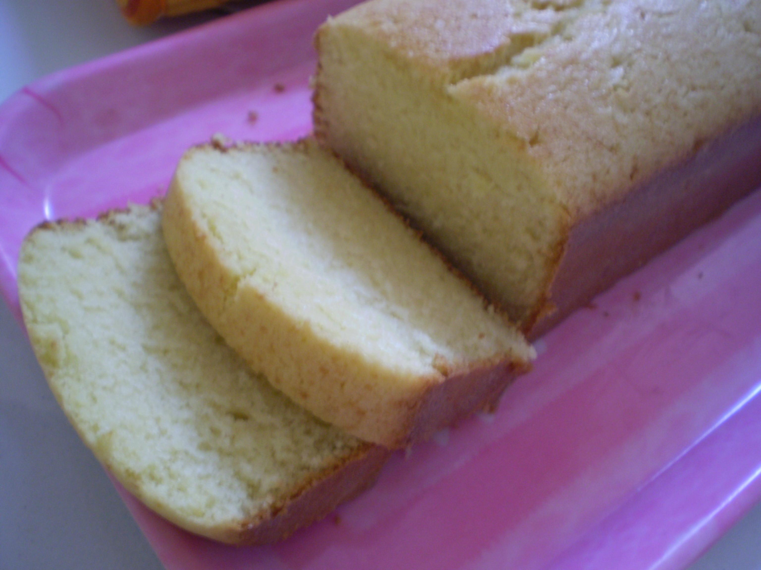 Healthy Pound Cake  Low Fat Pound Cake Recipe