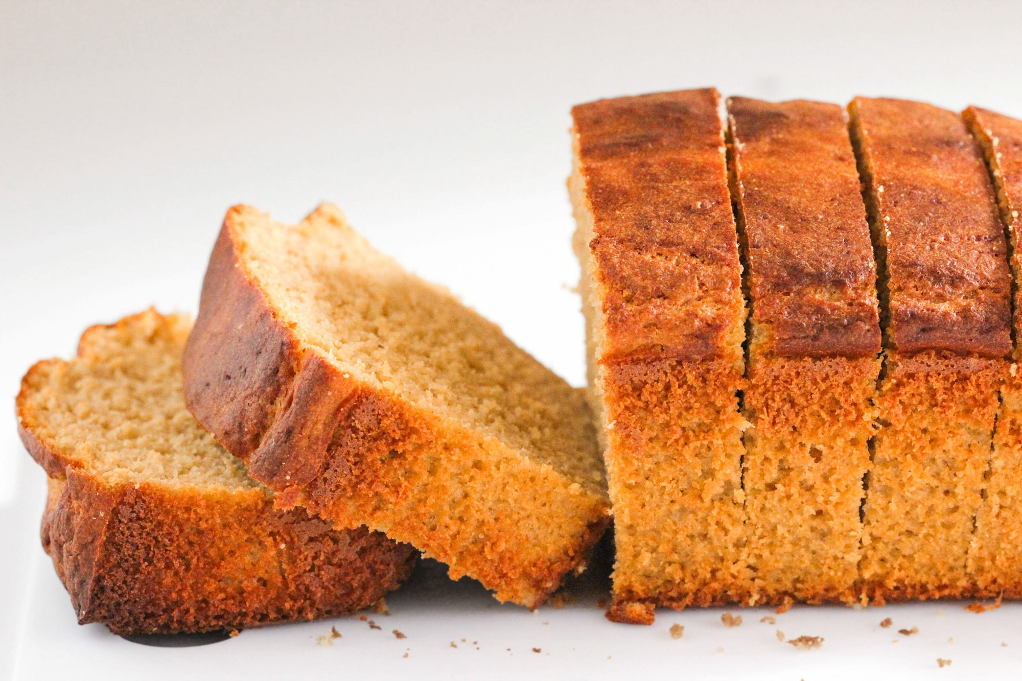 Healthy Pound Cake  Healthy Nectarine Olive Oil Pound Cake Recipe sugar free