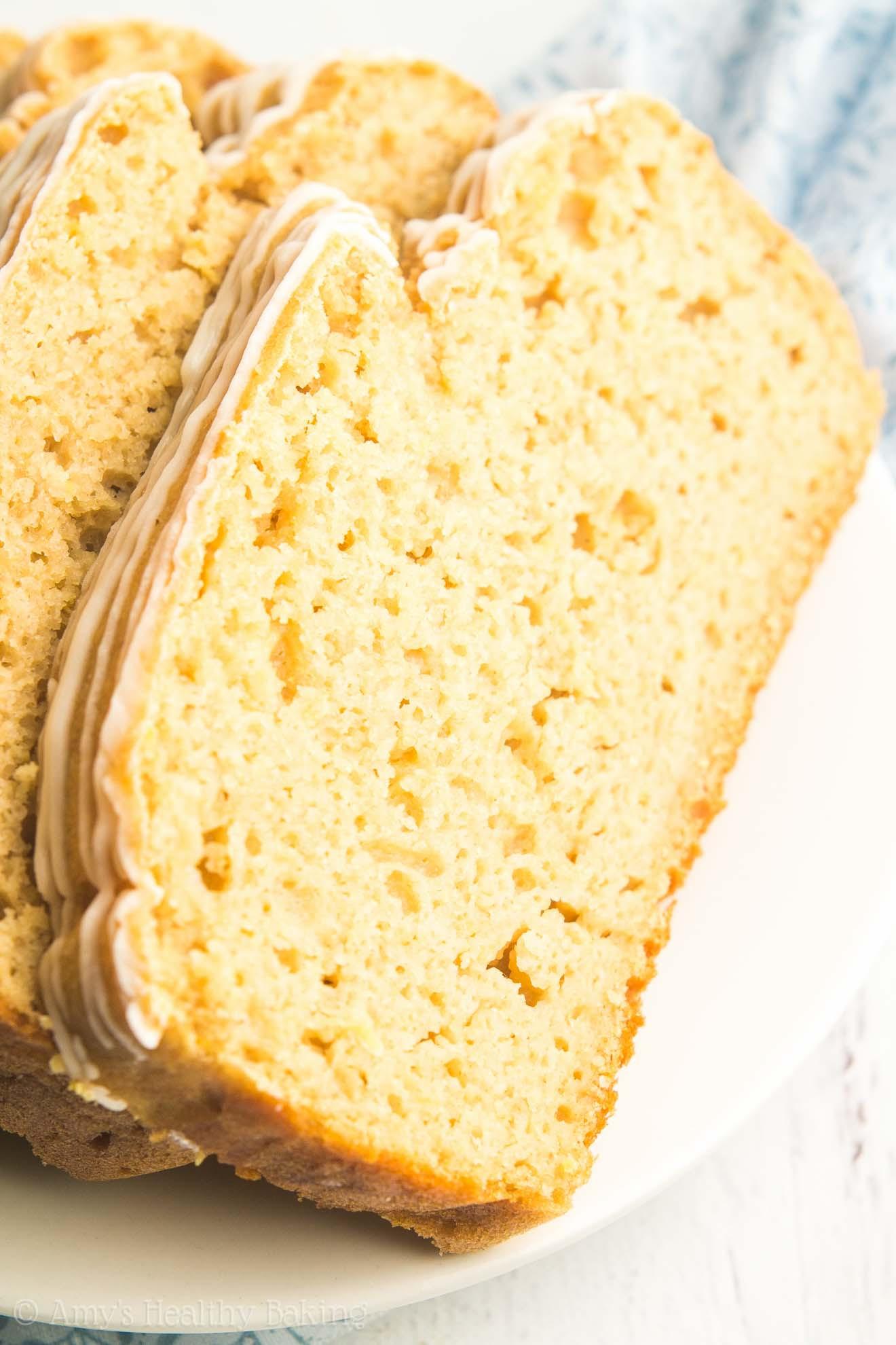 Healthy Pound Cake Recipe  Greek Yogurt Lemon Pound Cake