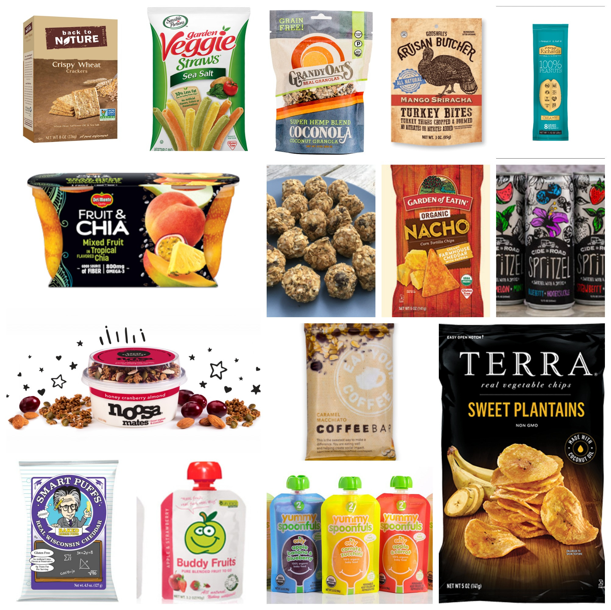 Healthy Pre Packaged Snacks  Road Trip Snacks Packaged Healthy Snacks for Car Rides