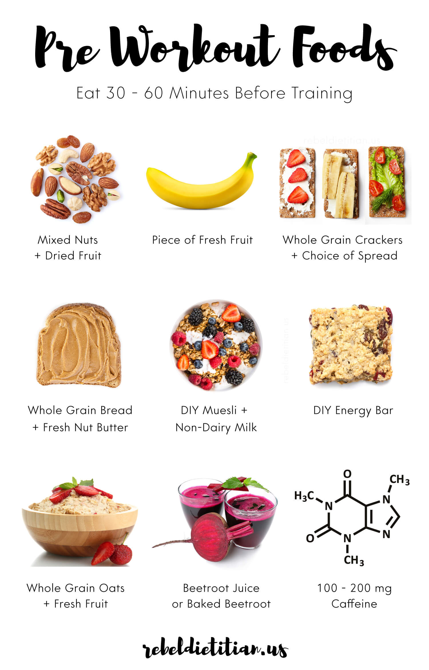 Healthy Pre Workout Breakfast  Pre Workout Foods