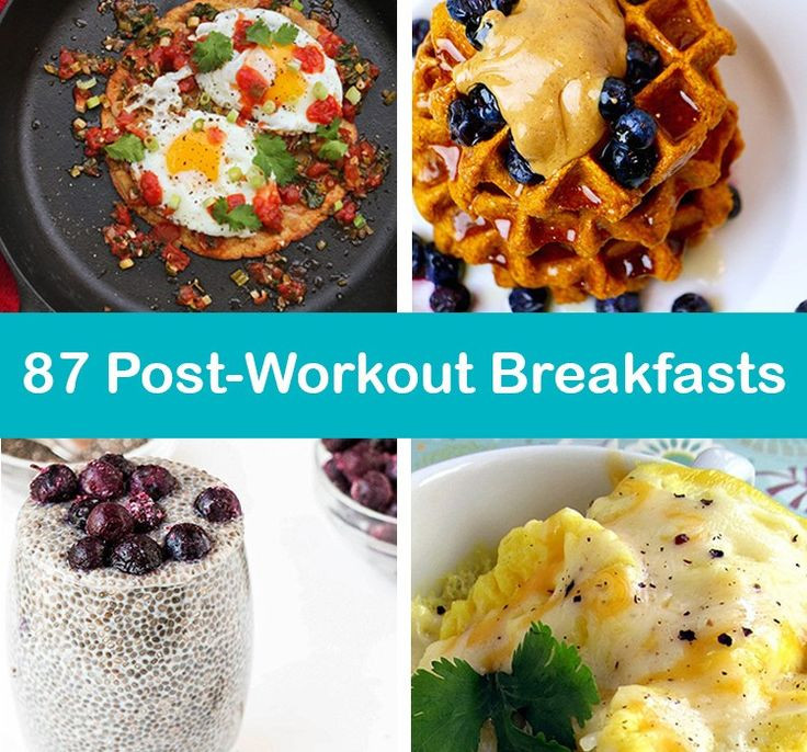 Healthy Pre Workout Breakfast  25 best ideas about Post workout breakfast on Pinterest