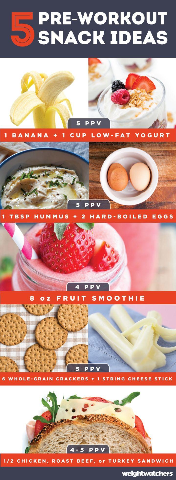 Healthy Pre Workout Snacks  Best 25 Pre workout snack ideas on Pinterest
