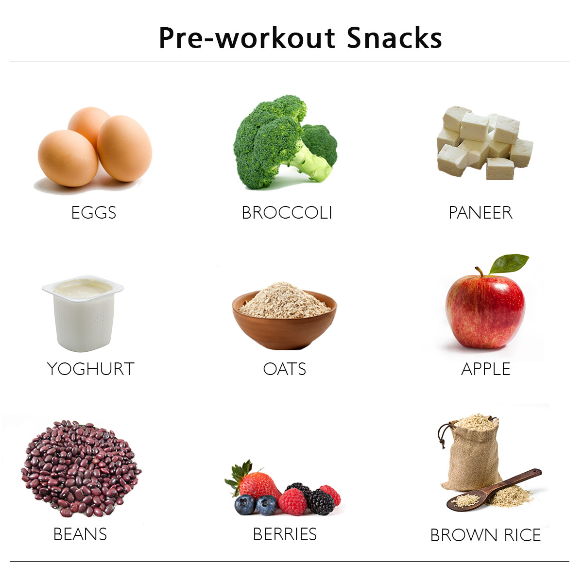 Healthy Pre Workout Snacks  What does your pre workout meal consist of Health Tips