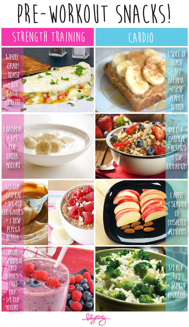 Healthy Pre Workout Snacks  What to eat before and after your workout