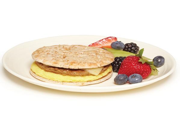 Healthy Premade Breakfast  A healthy frozen breakfast sandwich is hard to find