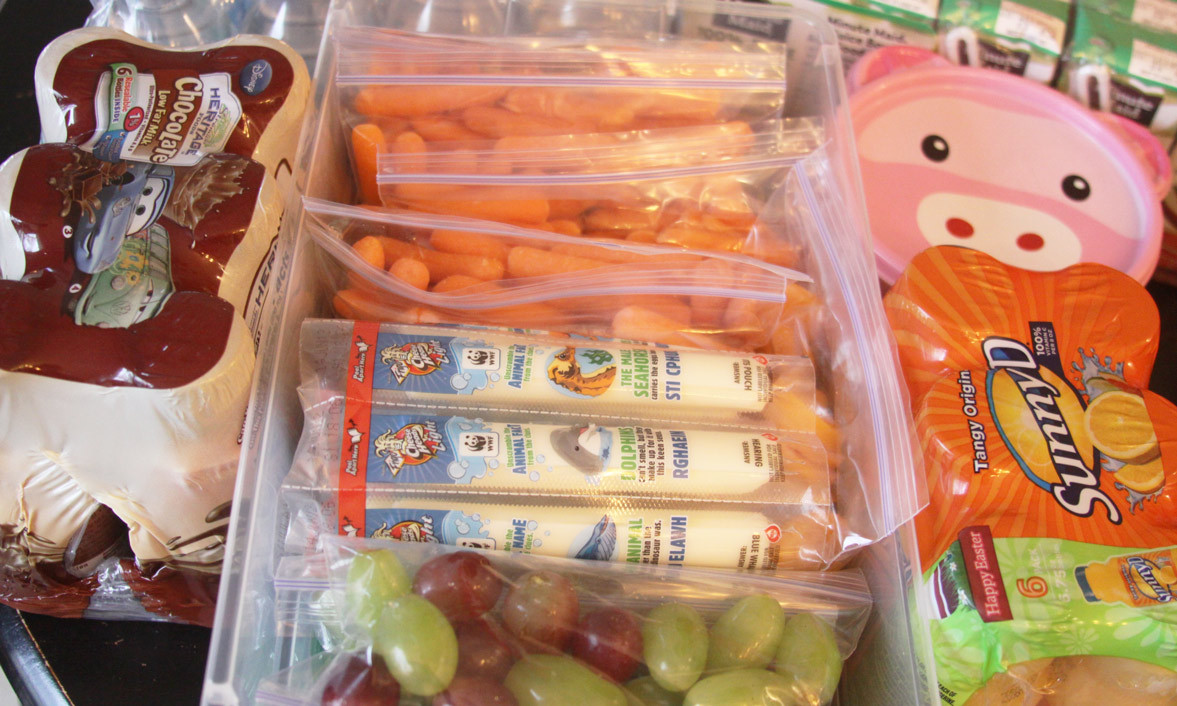 Healthy Prepackaged Lunches  The Snack Pack – Feeding Kids Healthy While Traveling And