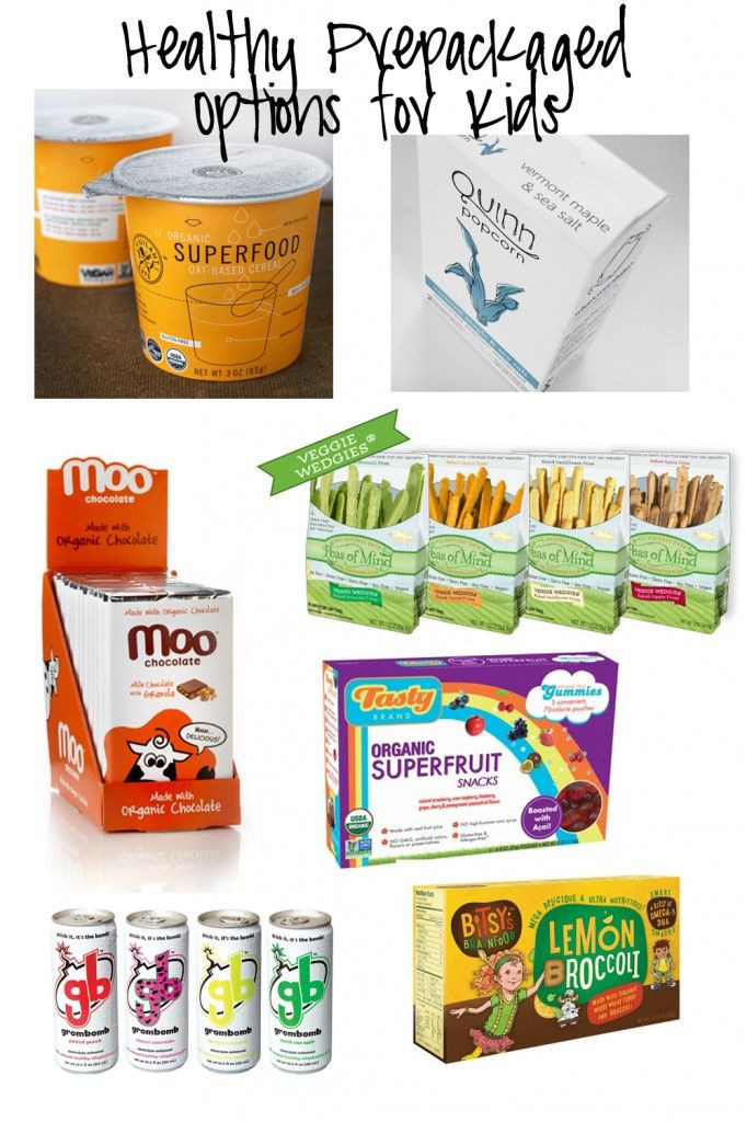 Healthy Prepackaged Lunches  healthy prepackaged options for kids