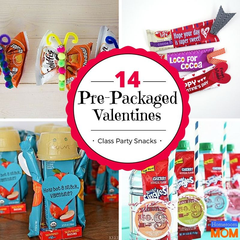 Healthy Prepackaged Snacks For Classroom  14 Prepacked Valentine s Day Class Party Snacks