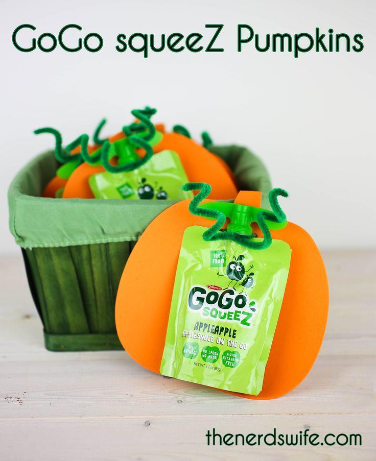 Healthy Preschool Snacks  Healthy Preschool Snacks GoGo squeeZ Pumpkins
