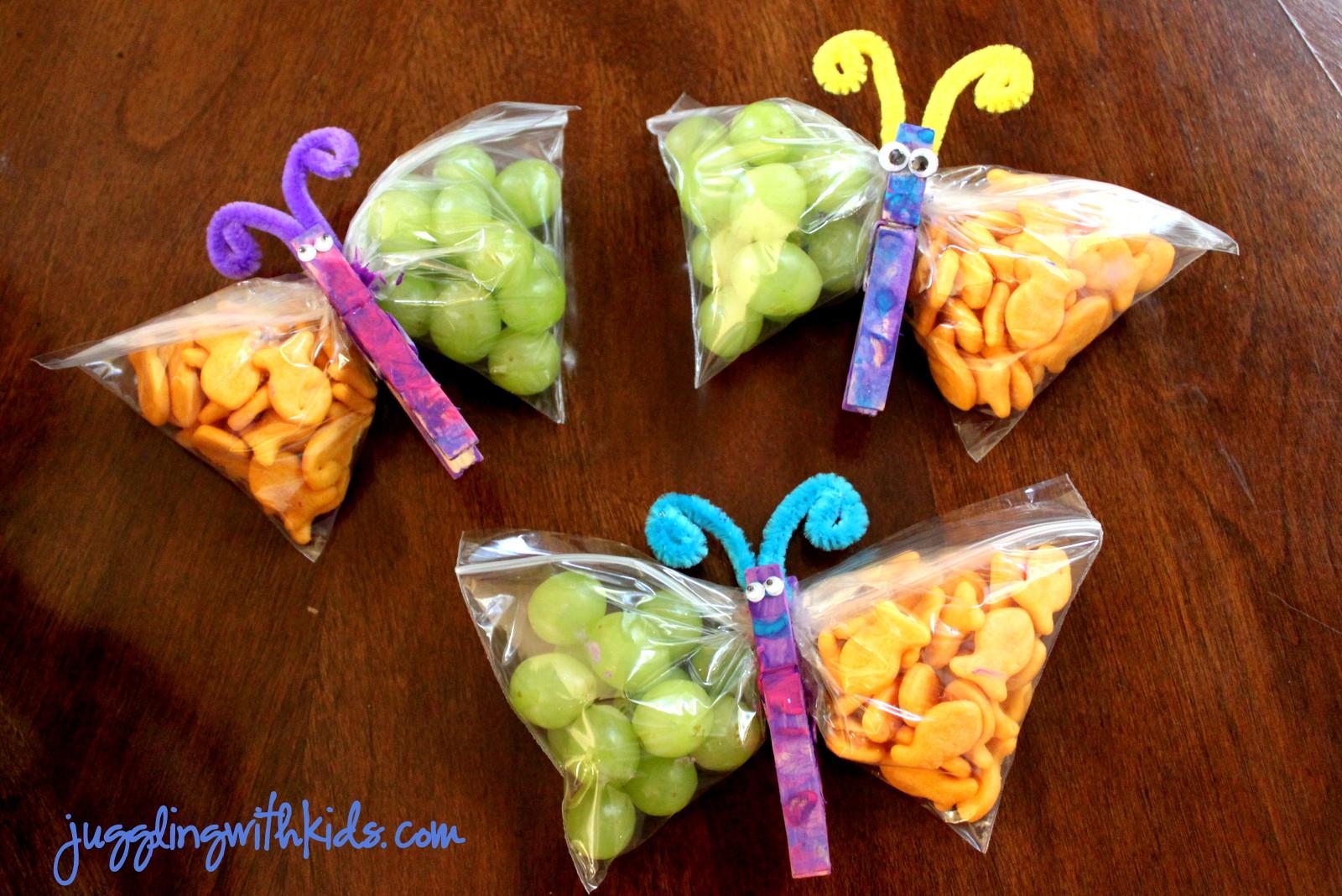 Healthy Preschool Snacks  Butterfly Snacks – Juggling With Kids
