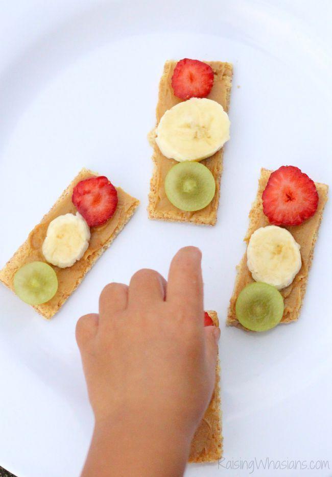 Healthy Preschool Snacks  Traffic Light Snack for Toddlers