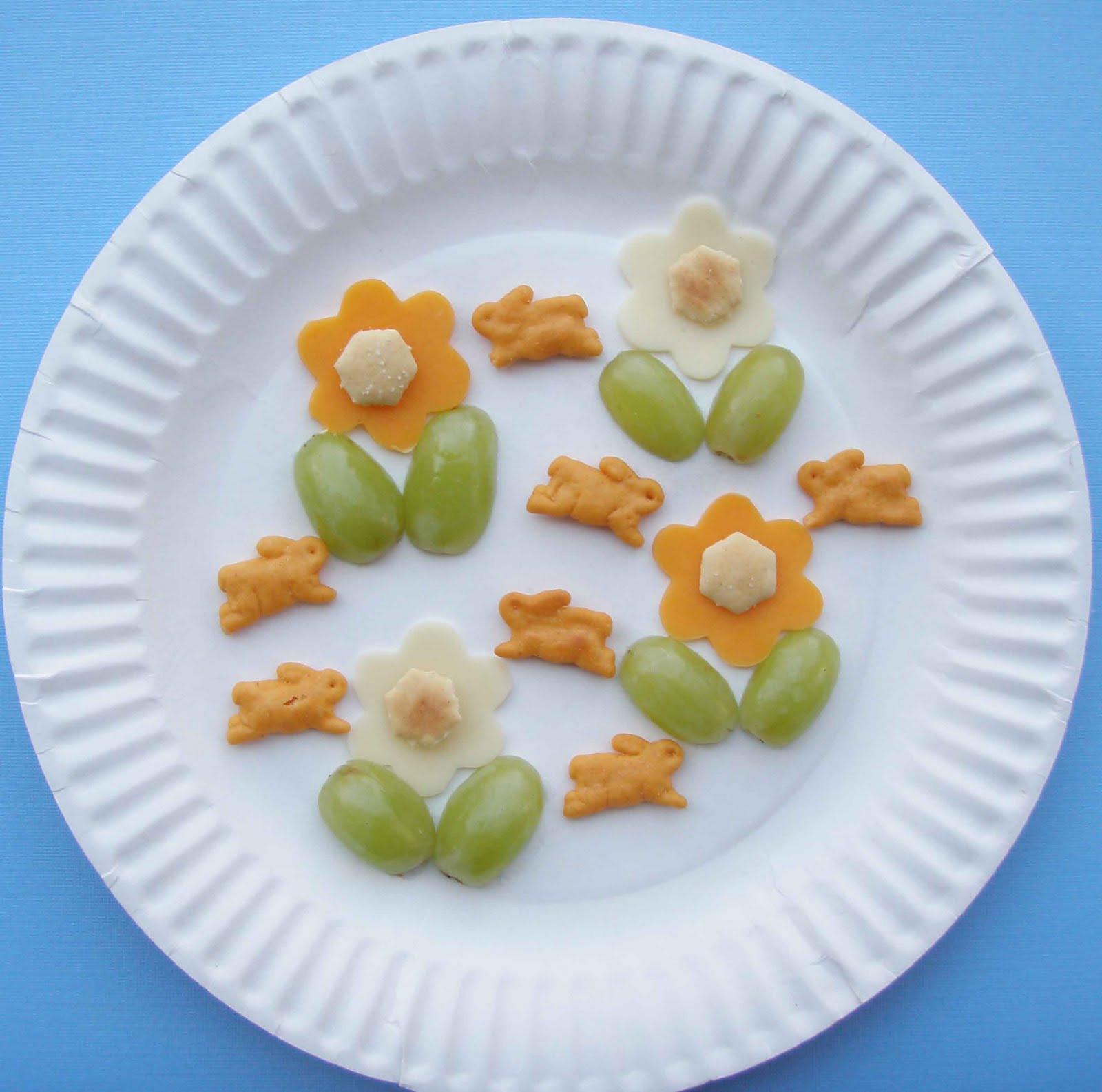 Healthy Preschool Snacks  Crack of Dawn Crafts Growing a Garden Healthy Preschool Snack